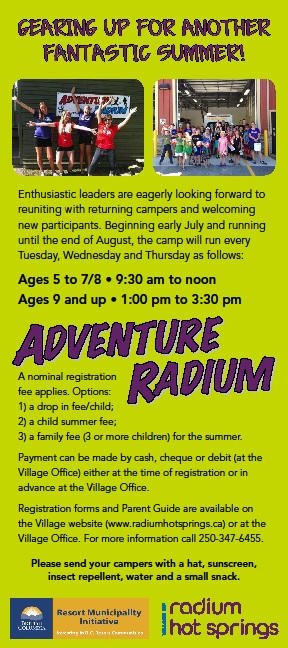 Adventure Radium Rack