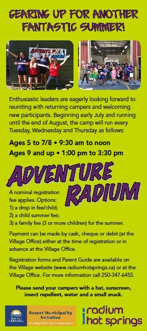 Adventure Radium Rack