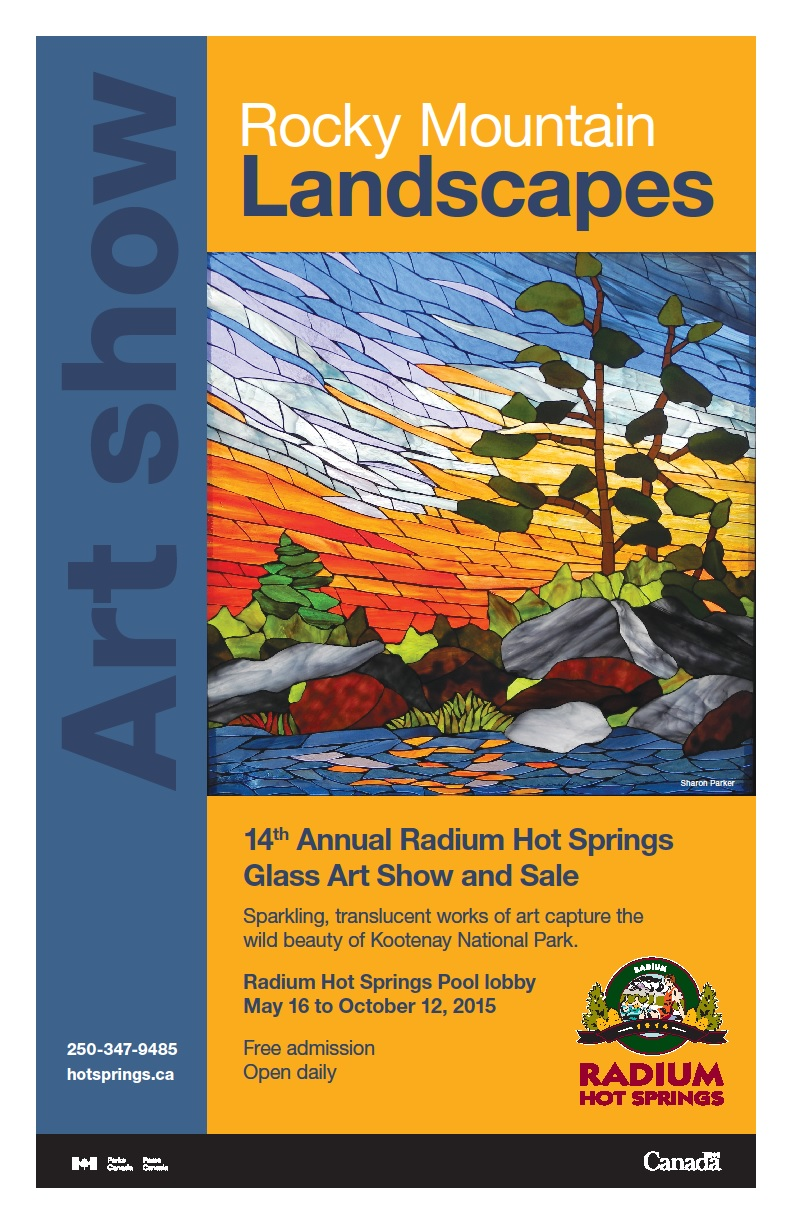 Radium Hot Springs Glass Art Show and Sale