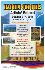 Radium Colours Artists' Retreat
