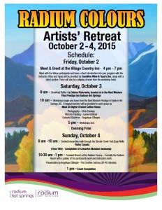 Radium Colours Schedule