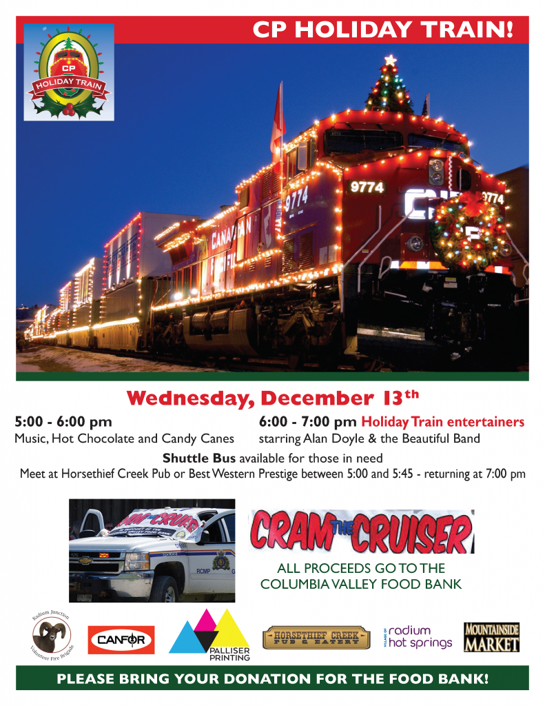 CPR Holiday Train @ Foresters Road Railway Crossing