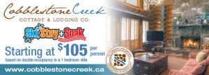 Ski Stay Soak Cobblestone Creek