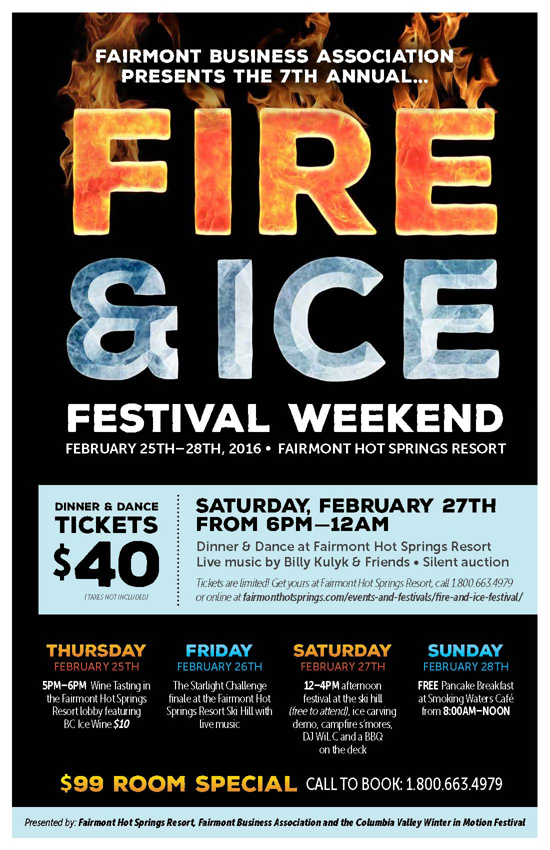 2016 Fire  Ice Poster