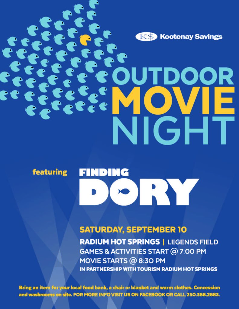 Kootenay Savings Credit Union Movie in the Park
