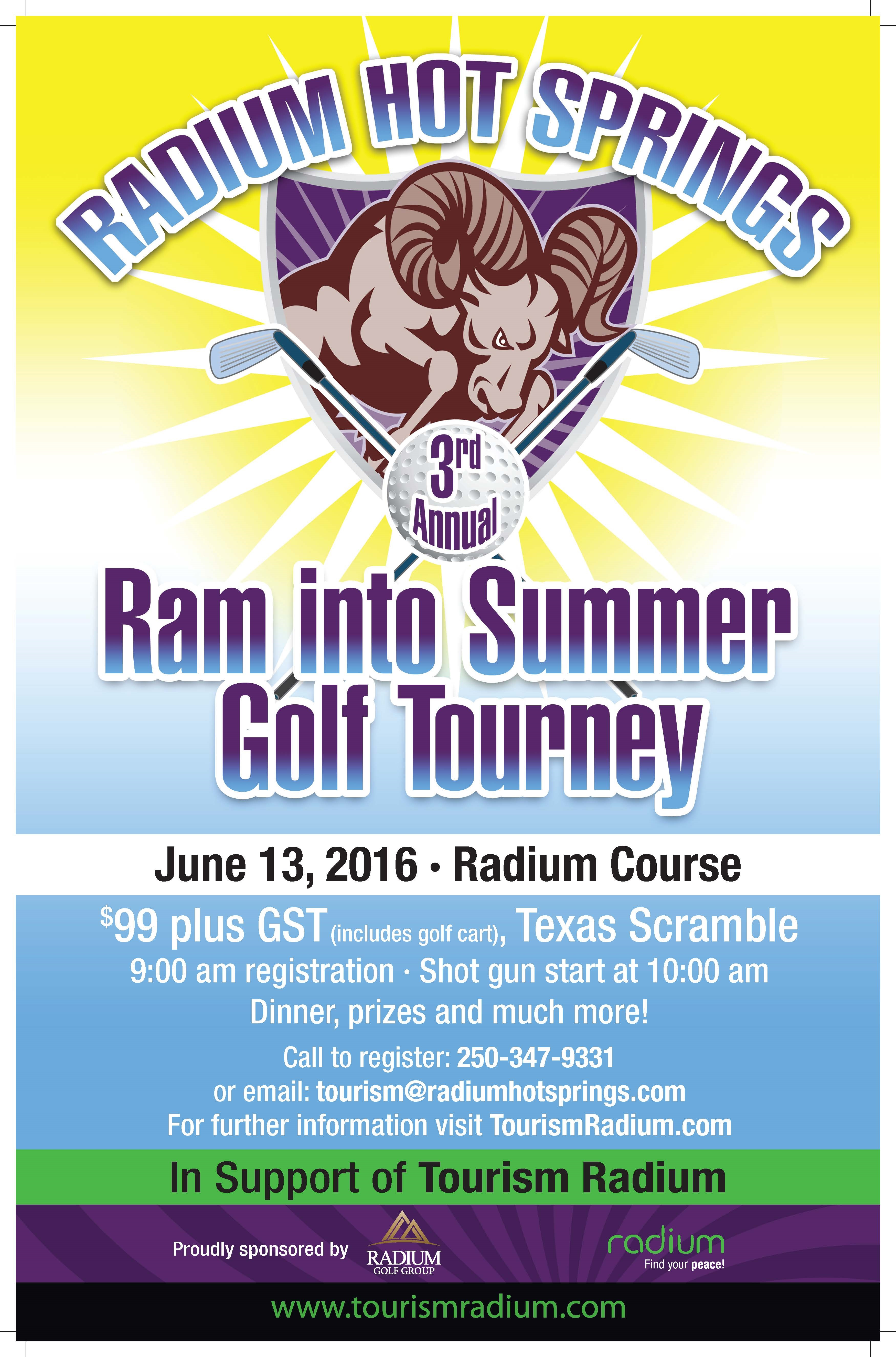 Ram into Summer Golf Tourney
