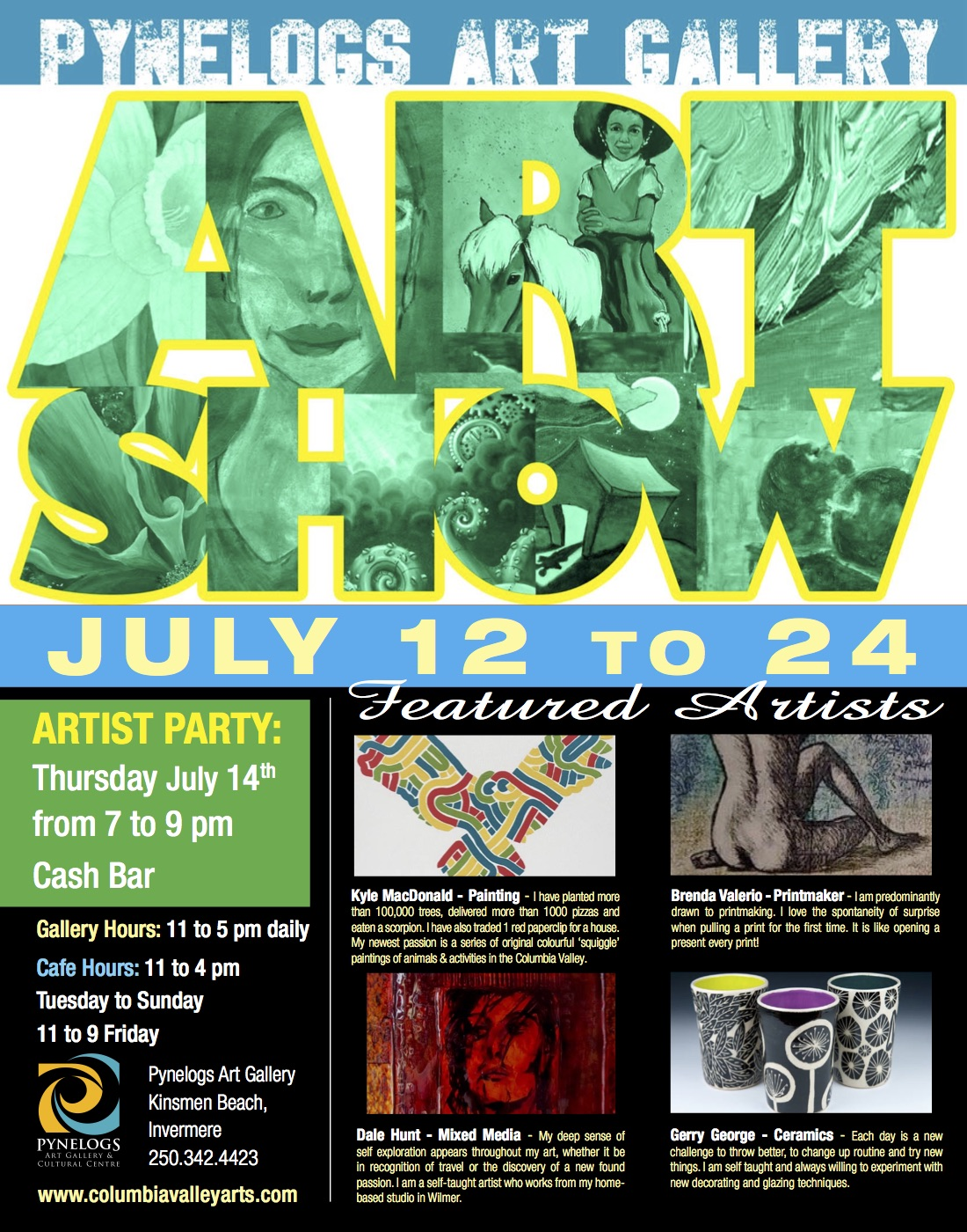 Pynelogs Art Show