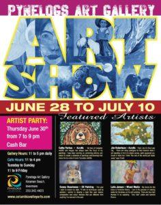 Pynelogs Art Show