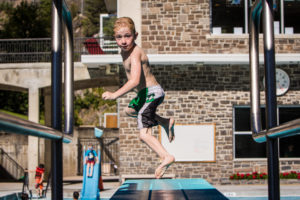 Hot Springs Child Diving Board Lookback Summer-3