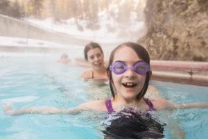 Hot Springs Child Winter