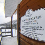 Sign Forester Cabin iPhone_