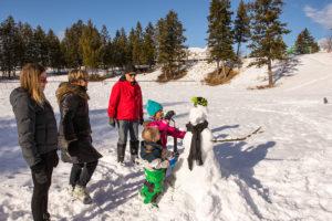 Winter Family Fun in Radium Hot Springs