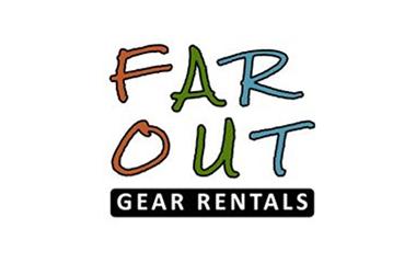 Far Out Adventure Hub logo