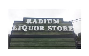 Radium Liquor Store logo