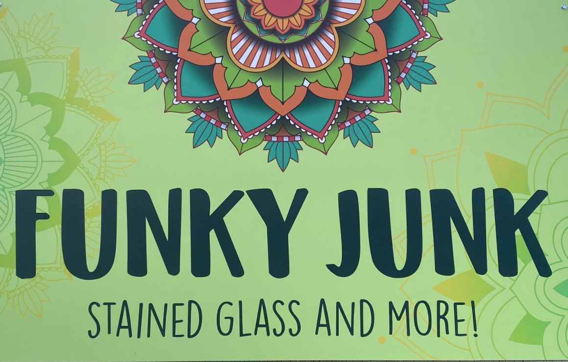 Funky Junk Stained Glass logo