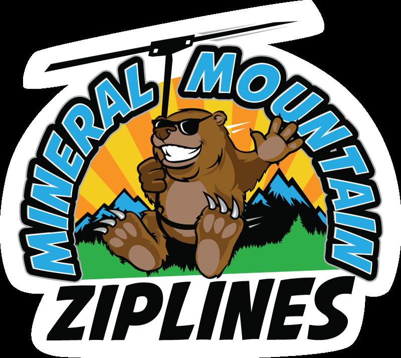 Mineral Mountain Ziplines logo