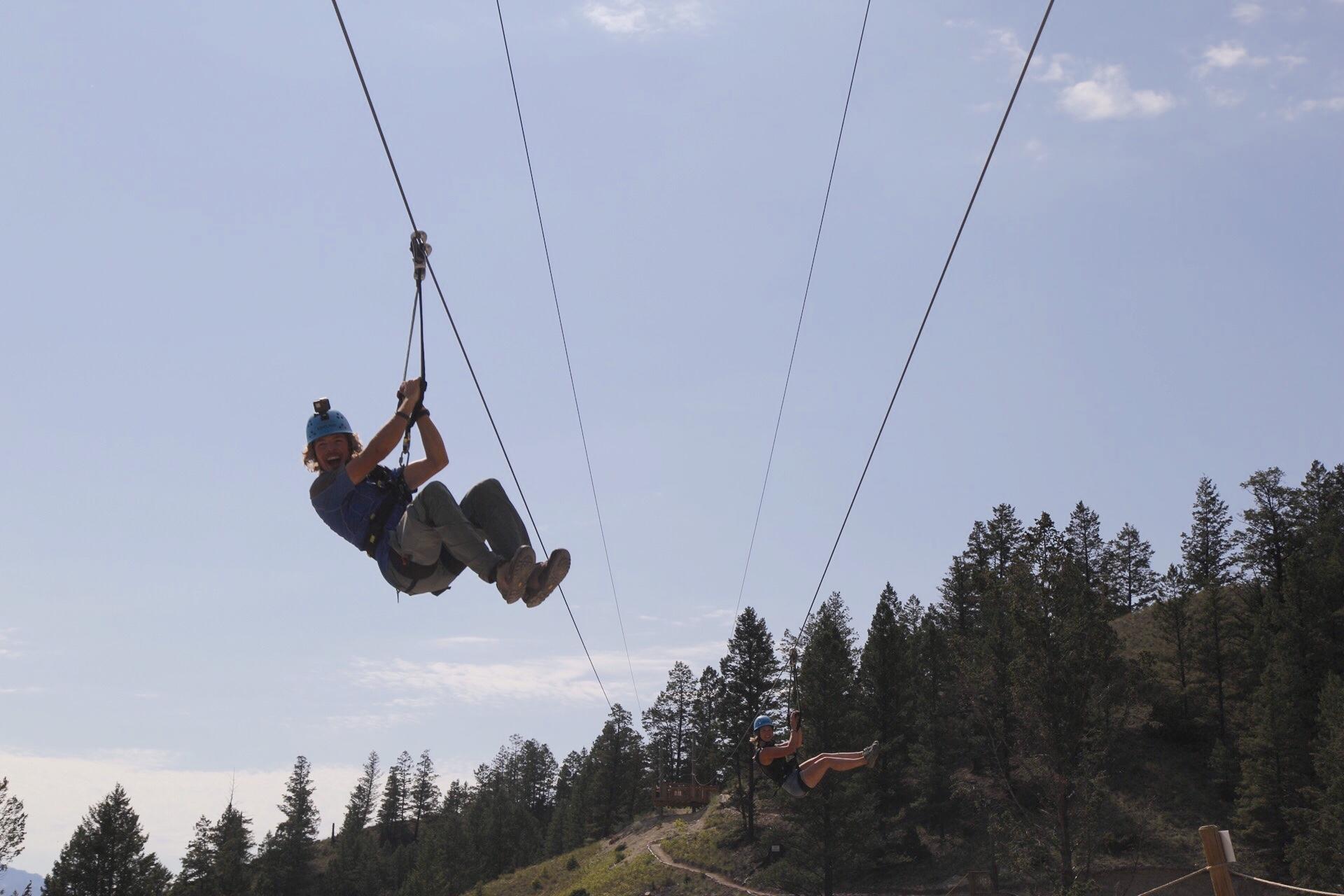 Valley Zipline Adventures logo